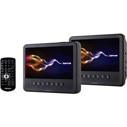 Lenco MES-212 DVD player s 2 monitora za naslon za glavu ATT.FX.SCREEN_DIAGONAL=17.5 cm (7 palac)