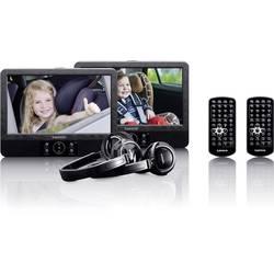 Prenosni DVD-predvajalnik 22.5 cm 9 palcev Lenco DVP-939 vklj. 12 V avtomobilski priključni kabel, vgrajen DVD predvajalnik, vkl