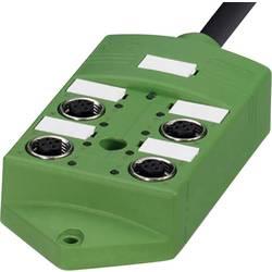 Sensorska/aktivatorska kutija pasivna M12 razdjelnik s metalnim navojem SACB-4/ 8-L- 5,0PUR SCO 1517107 Phoenix Contact 1 ST