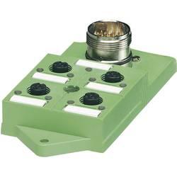 Sensorska/aktivatorska kutija pasivna M12 razdjelnik s plastičnim navojem SACB-4/ 8-L-M23 1692417 Phoenix Contact 1 ST