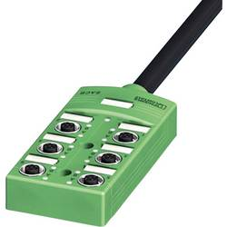 Sensor/aktorbox passiv M12-fordeler med metalgevind SACB-6/ 6-L- 5,0PUR SCO 1517123 Phoenix Contact 1 stk