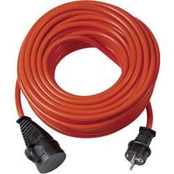 Električni podaljšek [ varnostni vtič - varnostna vtičnica] oranžne barve 25 m Brennenstuhl 1161600