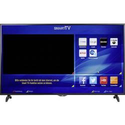 LED televizor 165 cm 65 JVC LT-65VU83A KEU: A+ DVB-T2, DVB-C, DVB-S, UHD, Smart TV, WLAN, CI+ crne boje