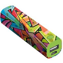 Powerbank Trust Urban Revolt Powerstick Graffiti Arrows Li-Ion 2600 mAh
