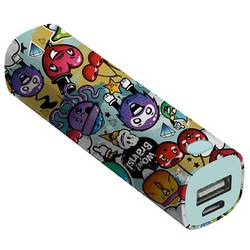 Powerbank Trust Urban Revolt Powerstick Graffiti Objects Li-Ion 2600 mAh