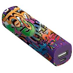 Powerbank Trust Urban Revolt Powerstick Graffiti Text Li-Ion 2600 mAh