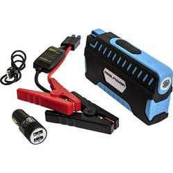 Powerbank RealPower PB-Starter 2 LiPo 12000 mAh Sort/blå