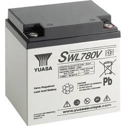 Olovni akumulator 12 V 28800 mAh Yuasa SWL780V SWL780V AGM (Š x V x Db) 166 x 175 x 125 mm M5 navoj ruka za održavanje, malo sam