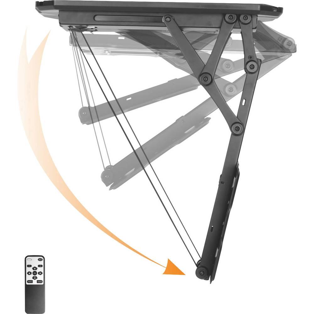 TV-takfäste 58,4 cm (23) - 139,7 cm (55) Tiltbar, Motoriserad SpeaKa ProfessionalMed fjärrkontroll, utdragbar