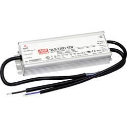 LED gonilnik, LED Trafo, konstantna napetost Mean Well HLG-120H-12B 120 W (maks.) 10 A 12 V/DC zaščita pred preobremenitvijo, PF