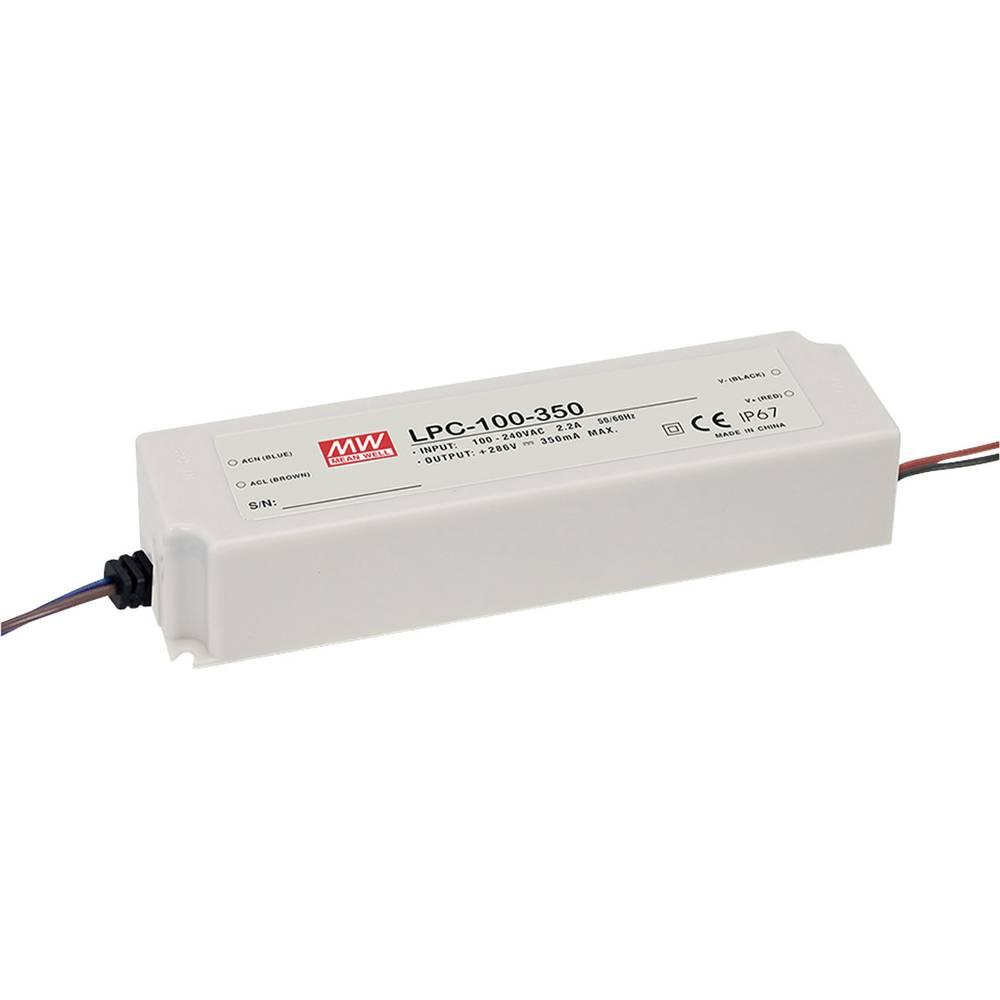 LED gonilnik, preklopni napajalnik Mean Well LPC-100-500 100 W (maks.)