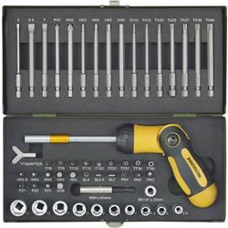 Set bit-nastavaka, 54-dijelni set Proxxon Industrial 23104 unutarnji TORX, unutarnji šesterokutni, ravni, križni Pozidriv, križn