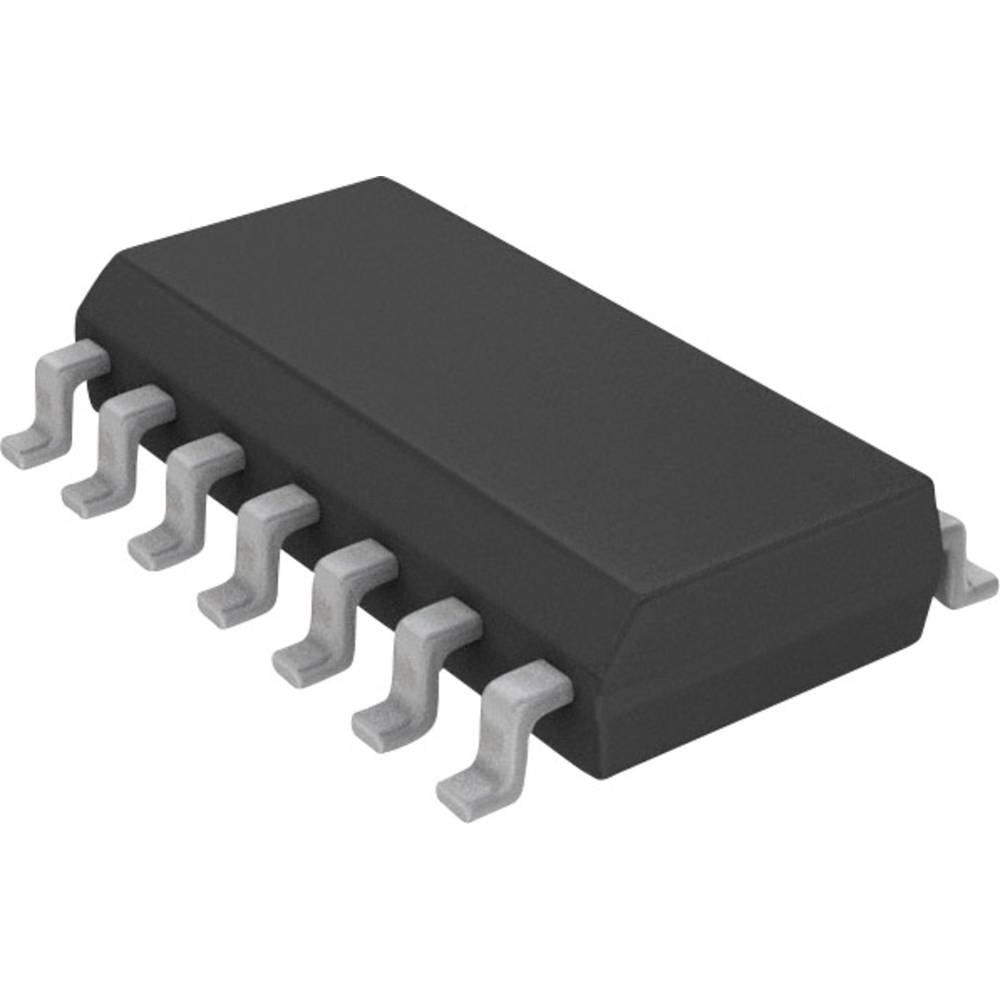 Vgrajeni mikrokontroler PIC16F684-I/SL SOIC-14 Microchip Technology 8-bitni 20 MHz število I/O 12