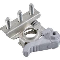 Batteriepolsko Minuspol (value.1455209) Dobbeltring-snaplås MTA 15.07905 Battery Terminal Quick Lock M666SX 1 stk