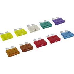 Standard fladsikring 3 A, 5 A, 7.5 A, 10 A, 15 A, 20 A, 25 A, 30 A Blå , Rød, Hvid, Gul, Grøn, Lilla, Lysebrun, Brun MTA 06.0041
