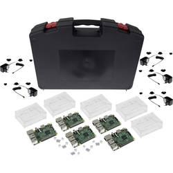 Raspberry Pi 3 Model B Start-set Raspberry 3 Klassenraum Starter-Set 1 GB utan OS inkl. hölje, inkl. nätaggregat