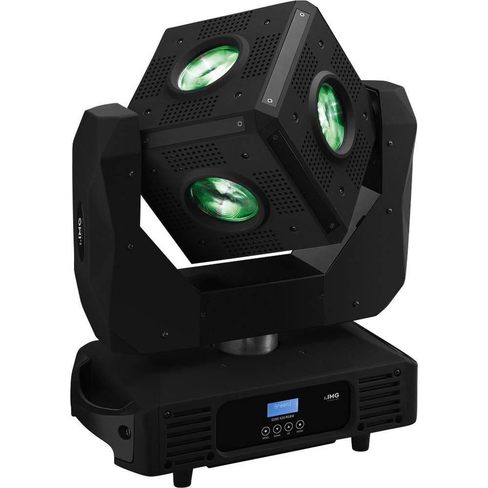 LED reflektor s okretnom glavom IMG Stage Line CUBE-630/RGBW broj LED dioda: 6 x 30 W