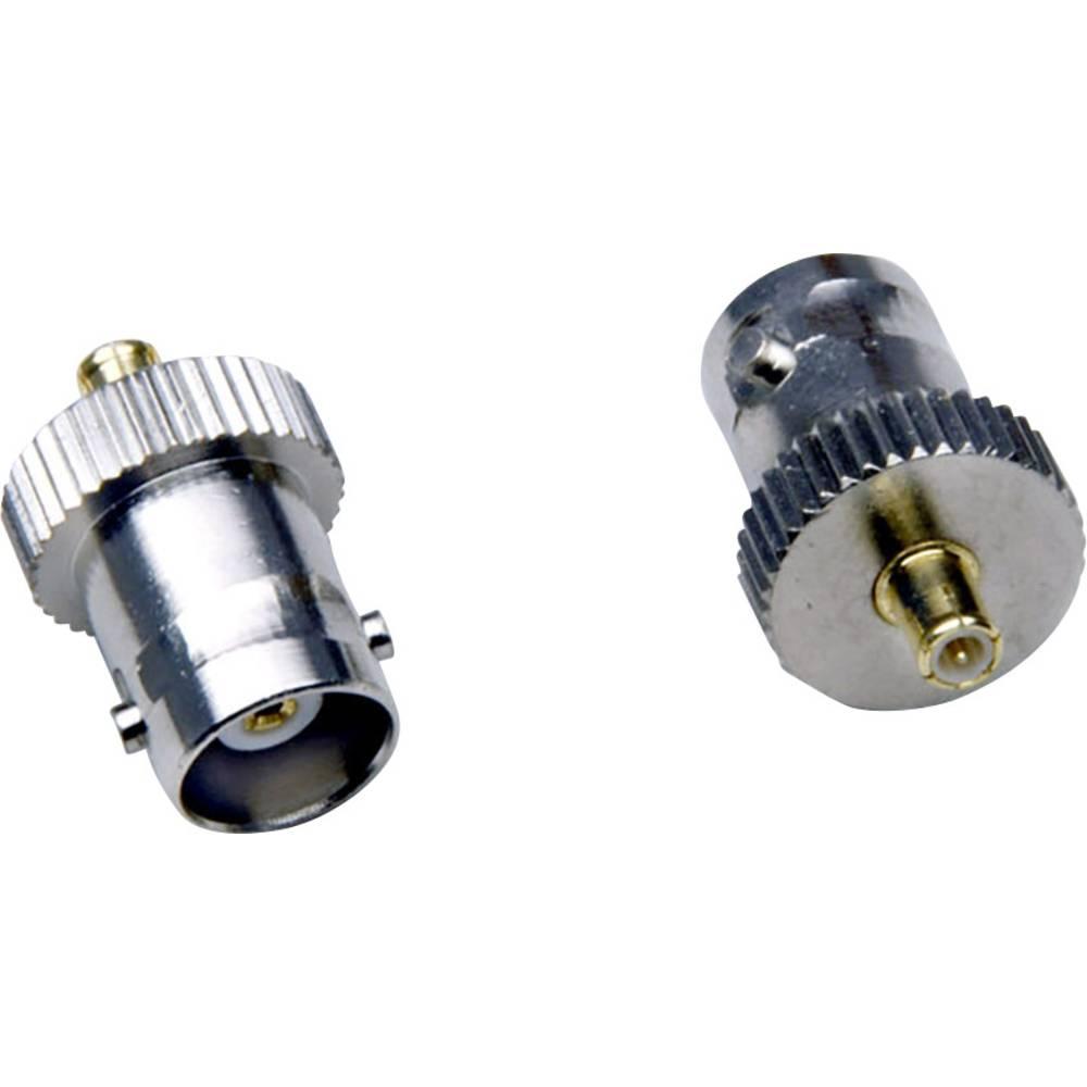 MCX-adapter MCX-Stecker (value.1390769) - BNC-Buchse (value.1390777) BKL Electronic 0416316 1 stk