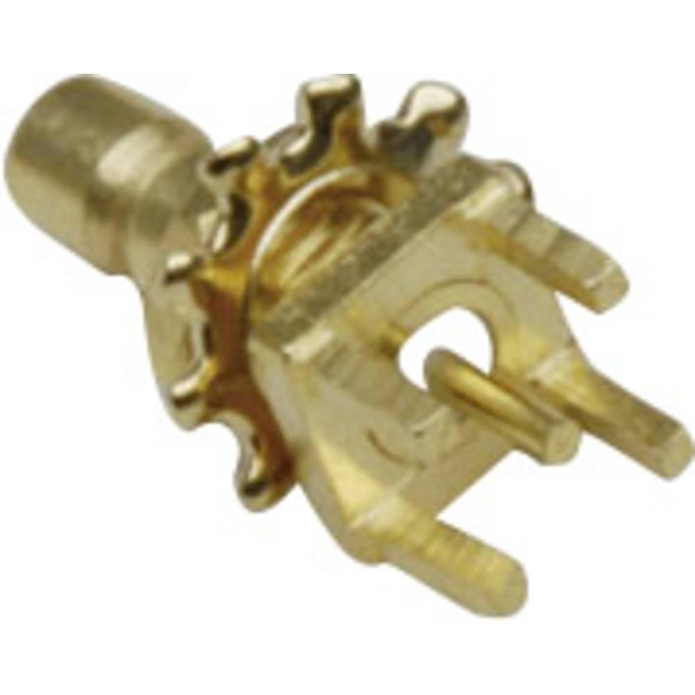 SMB-stikforbindelse BKL Electronic 0411048 50 Ohm Tilslutning, indbygning lodret 1 stk