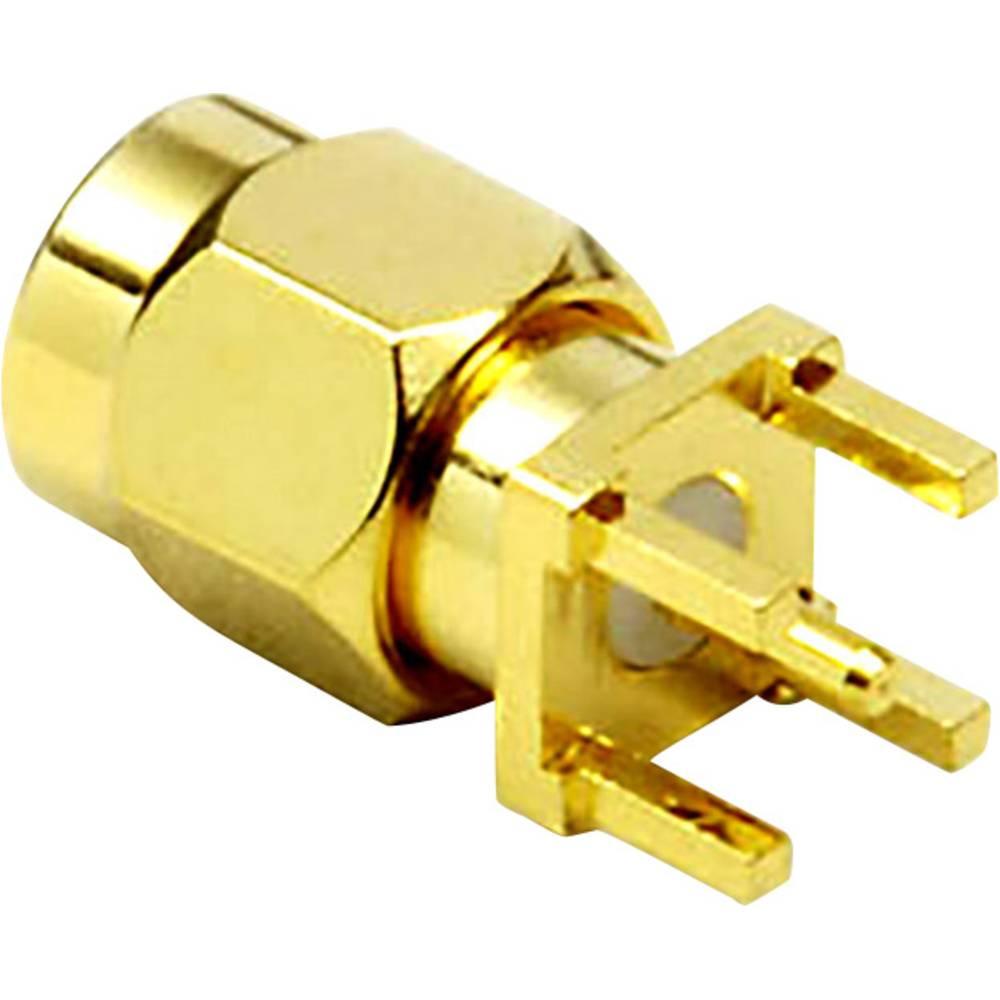 SMA-reverse-stikforbindelse BKL Electronic 0409061 50 Ohm Stik, indbygning lodret 1 stk