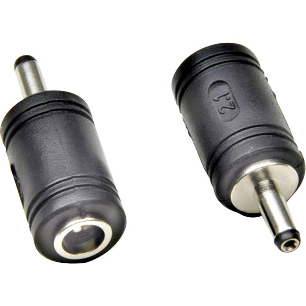 Lavvoltsadapter Niedervolt-Stecker (value.1390842) - Niedervolt-Buchse (value.1390843);3.5 mm;1.35 mm;5.6 mm;2.1 mm;BKL Electron