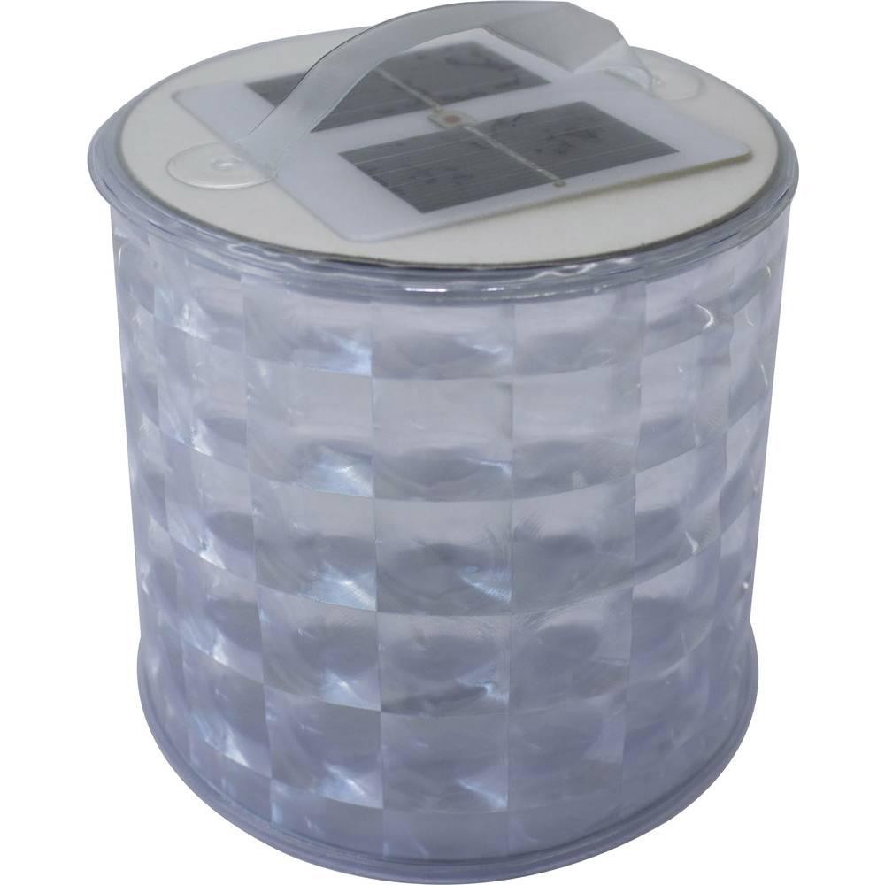 LED svetilka za kampiranje Phaesun Blow-Up Disco solarno napajanje 100 g prozorna, srebrna XSK-L07-2