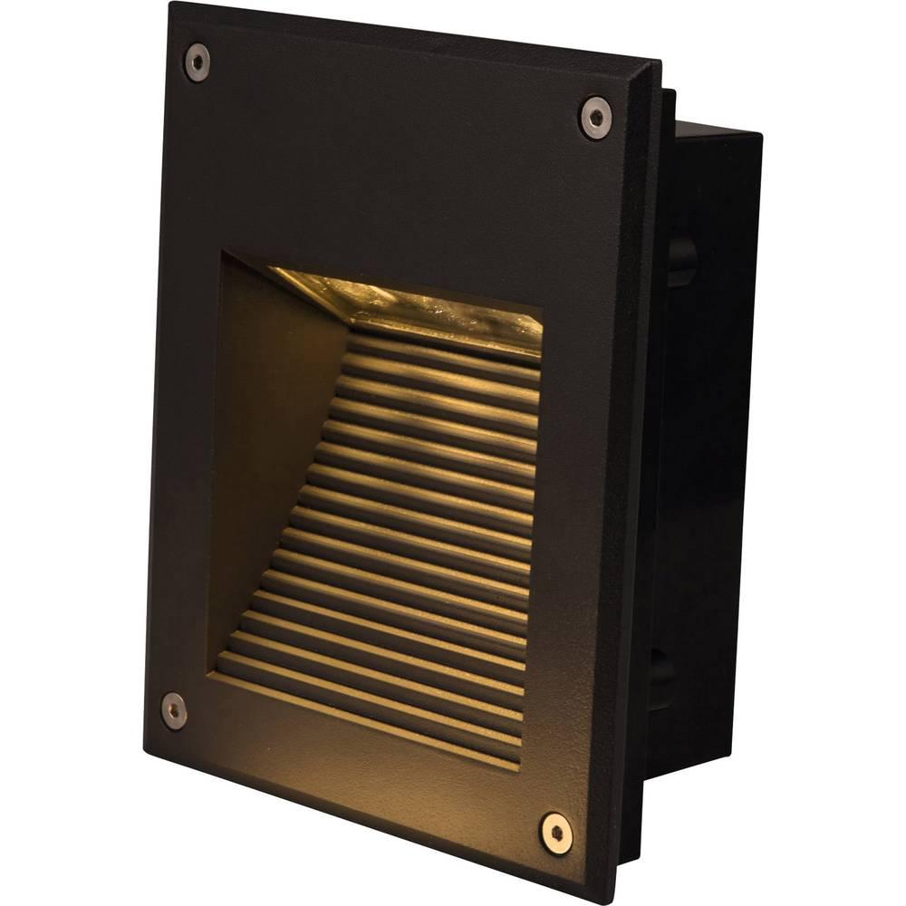 LED zunanja vgradna svetilka 3 W Heitronic Dora 35288 grafitne barve