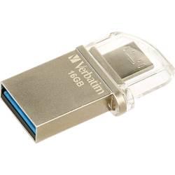 USB-nadomestni pomnilnik za pametne telefone/tablice Verbatim OTG Micro Drive 16 GB USB 3.0, Micro USB 2.0