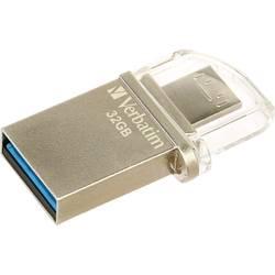 USB-nadomestni pomnilnik za pametne telefone/tablice Verbatim OTG Micro Drive 32 GB USB 3.0, Micro USB 2.0