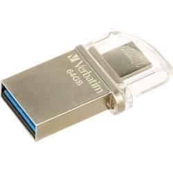 USB-nadomestni pomnilnik za pametne telefone/tablice Verbatim OTG Micro Drive 64 GB USB 3.0, Micro USB 2.0