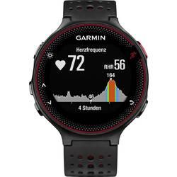 GPS ura z merilnikom srčnega utripa in vgrajenim senzorjem Garmin Forerunner 235 WHR Marsalia Bluetooth črna, vinsko rdeča