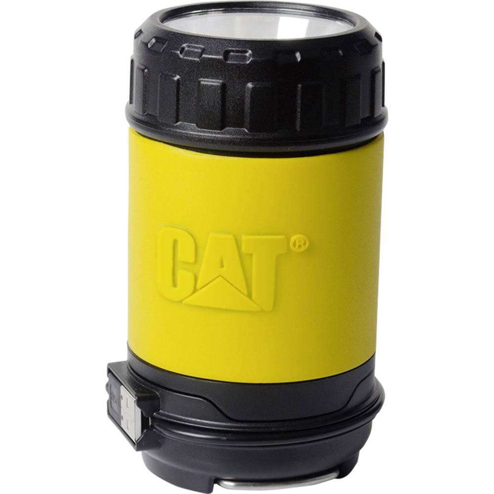 LED lanterna za kampiranje CAT akumulatorsko napajanje žuta, crna CT6515