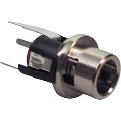 Lavspændingsstik Tilslutning, indbygning lodret 5.7 mm 2.1 mm BKL Electronic 072337 1 stk