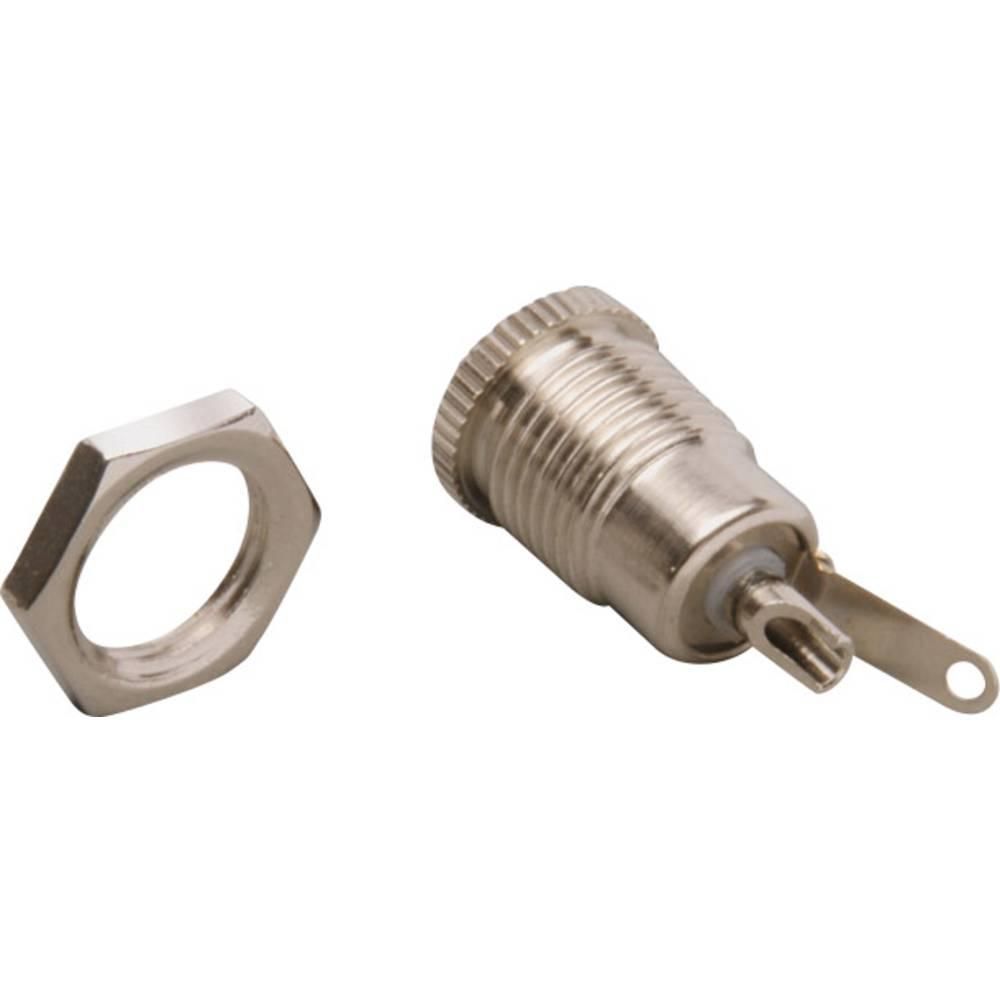 Lavspændingsstik Tilslutning, indbygning lodret 5.7 mm 2.1 mm BKL Electronic 072341/L 1 stk