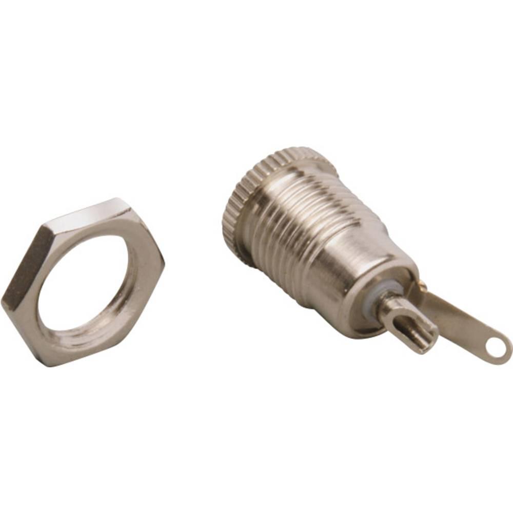 Lavspændingsstik Tilslutning, indbygning lodret 5.6 mm 2.5 mm BKL Electronic 072342/L 1 stk