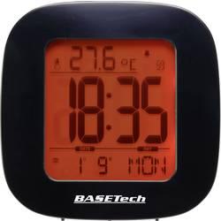 DCF Väckarklocka Basetech E0126R Svart Larmtider 1