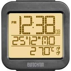 DCF Väckarklocka Eurochron RC130 Antracit Larmtider 2
