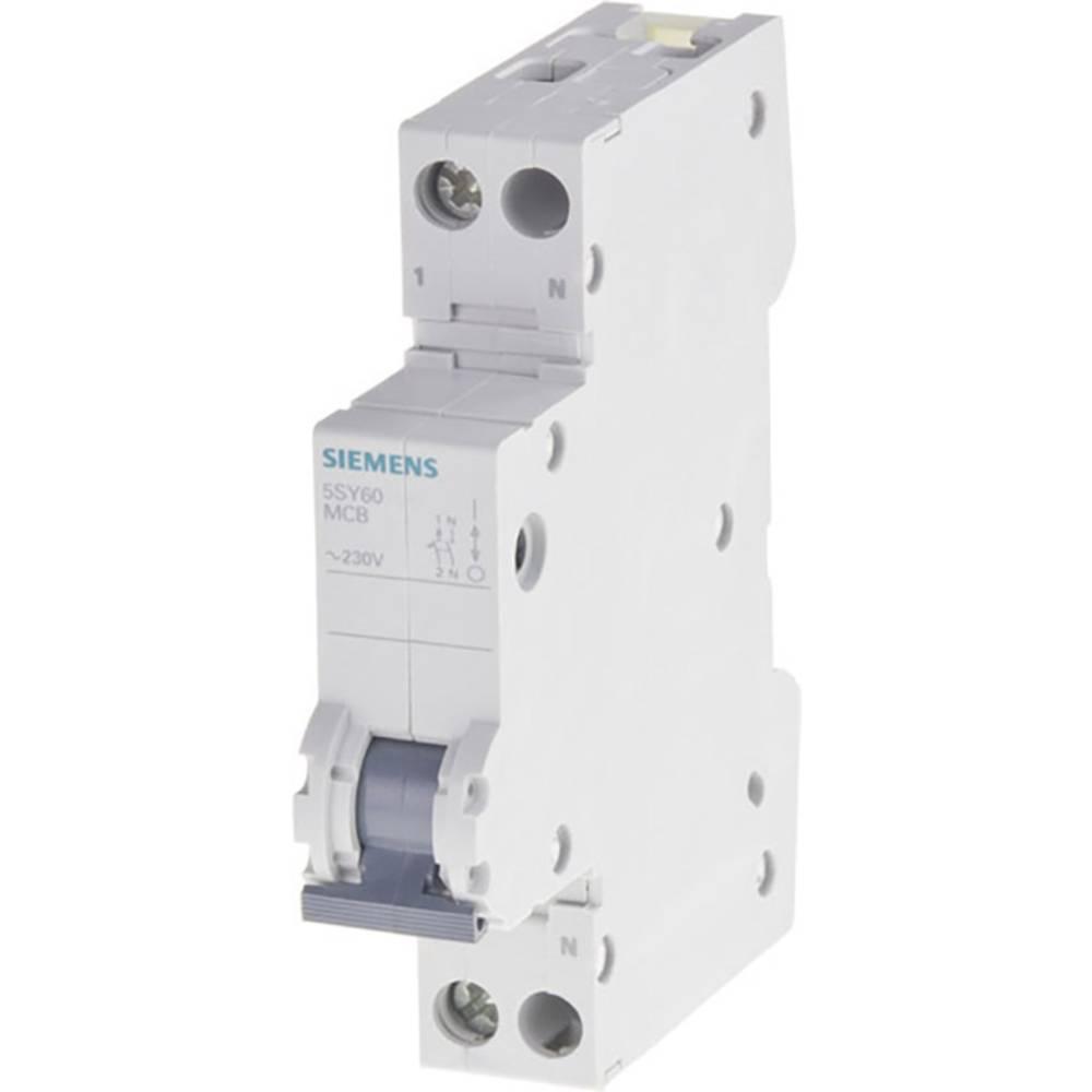 Inštalacijski odklopnik 1-polni 10 A 230 V Siemens 5SY6010-6