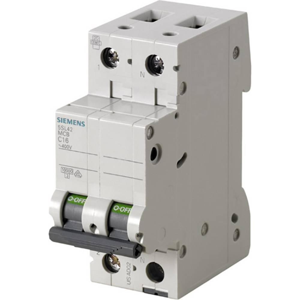 Inštalacijski odklopnik 2-polni 16 A 230 V Siemens 5SL4516-6