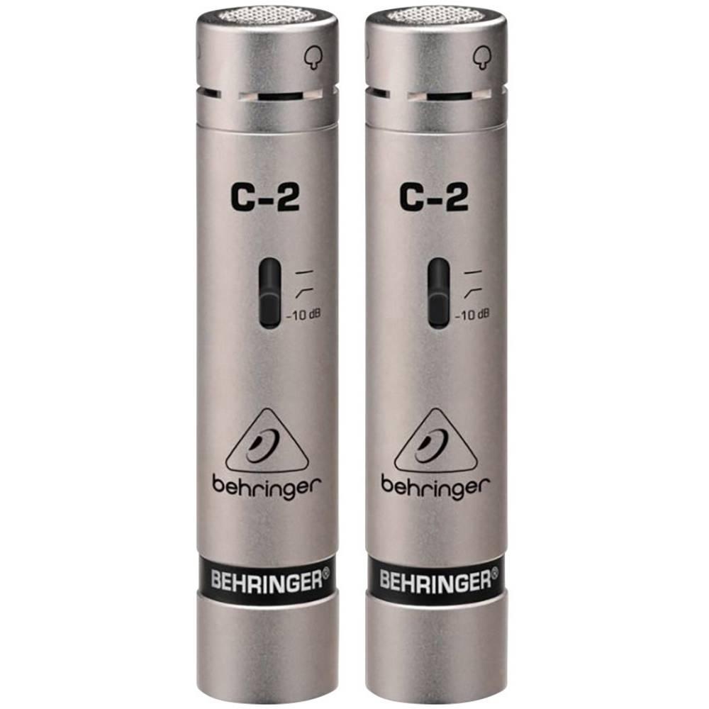 Mikrofon za inštrumente Behringer C-2 prenos:s kablom vklj. sponka, vklj. kovček, vklj. zaščita pred vetrom