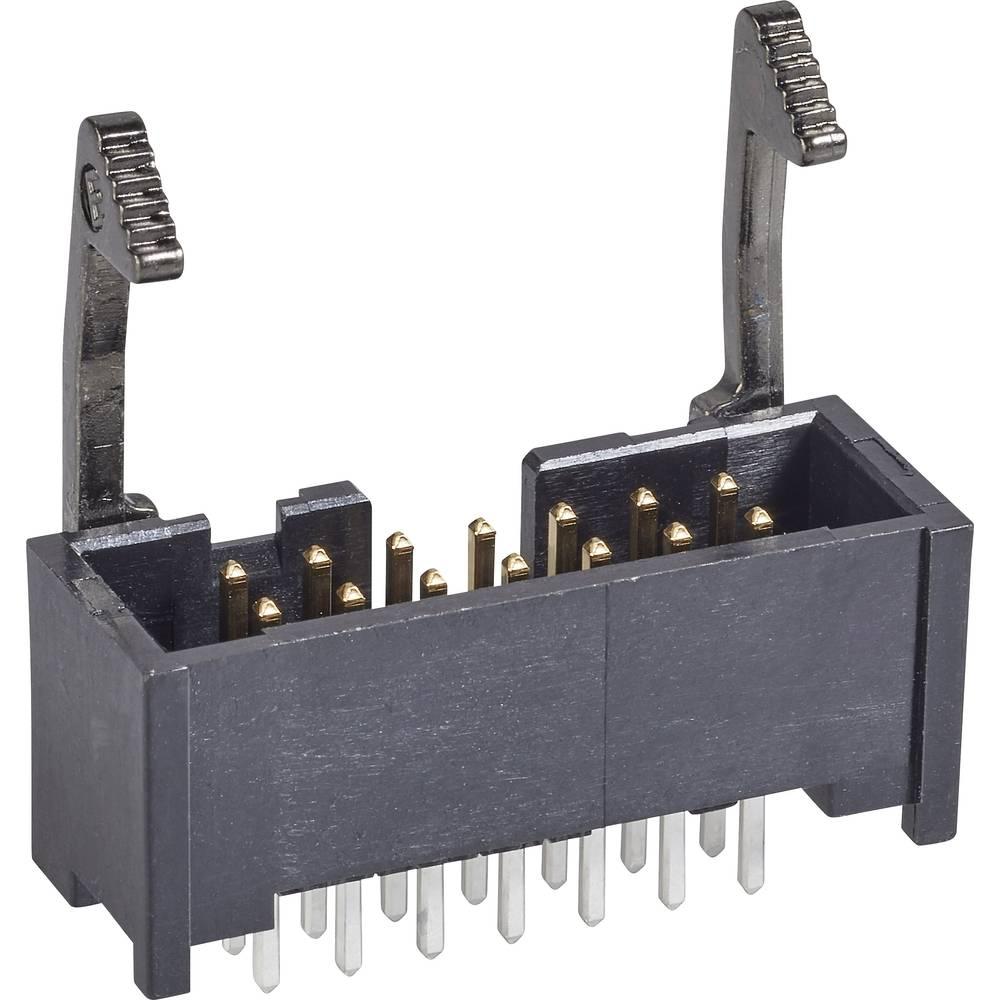 Stiftliste Med låsehåndtag lang Rastermål: 2.54 mm Samlet antal poler: 20 TE Connectivity 1 stk