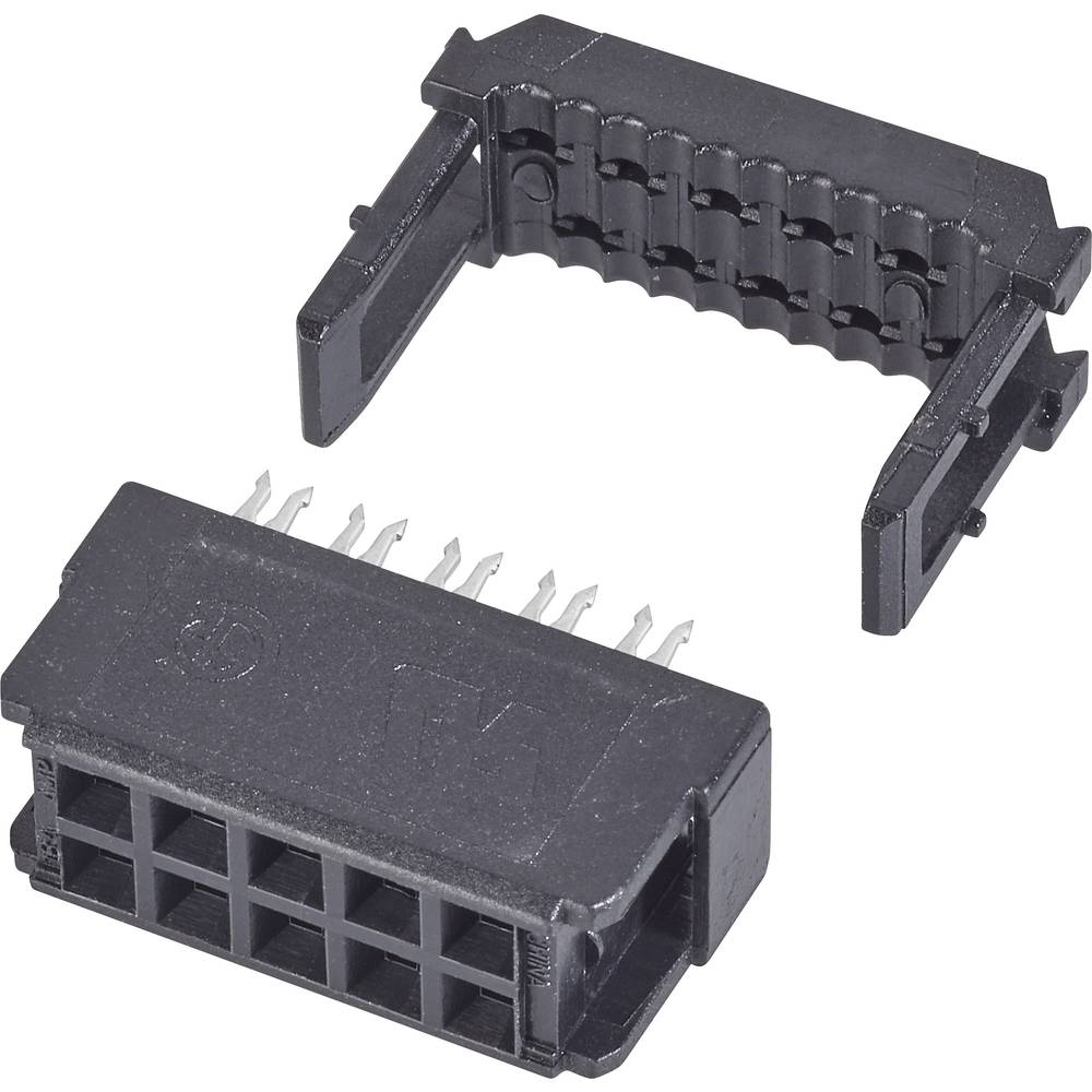 Stiftliste Rastermål: 2.54 mm Samlet antal poler: 16 TE Connectivity 1 stk