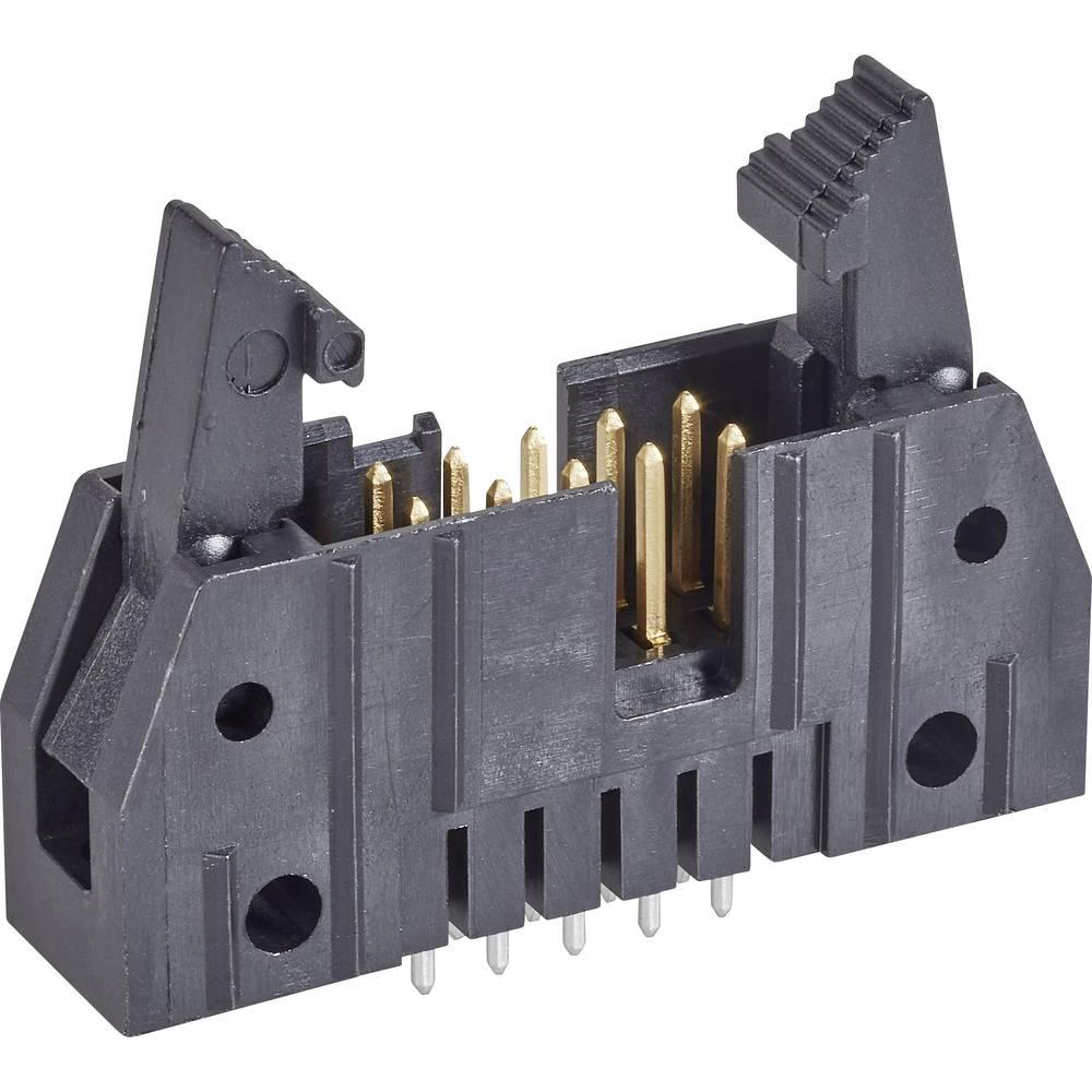 Stiftliste med kort udløsergreb Rastermål: 2.54 mm Samlet antal poler: 16 TE Connectivity 1 stk