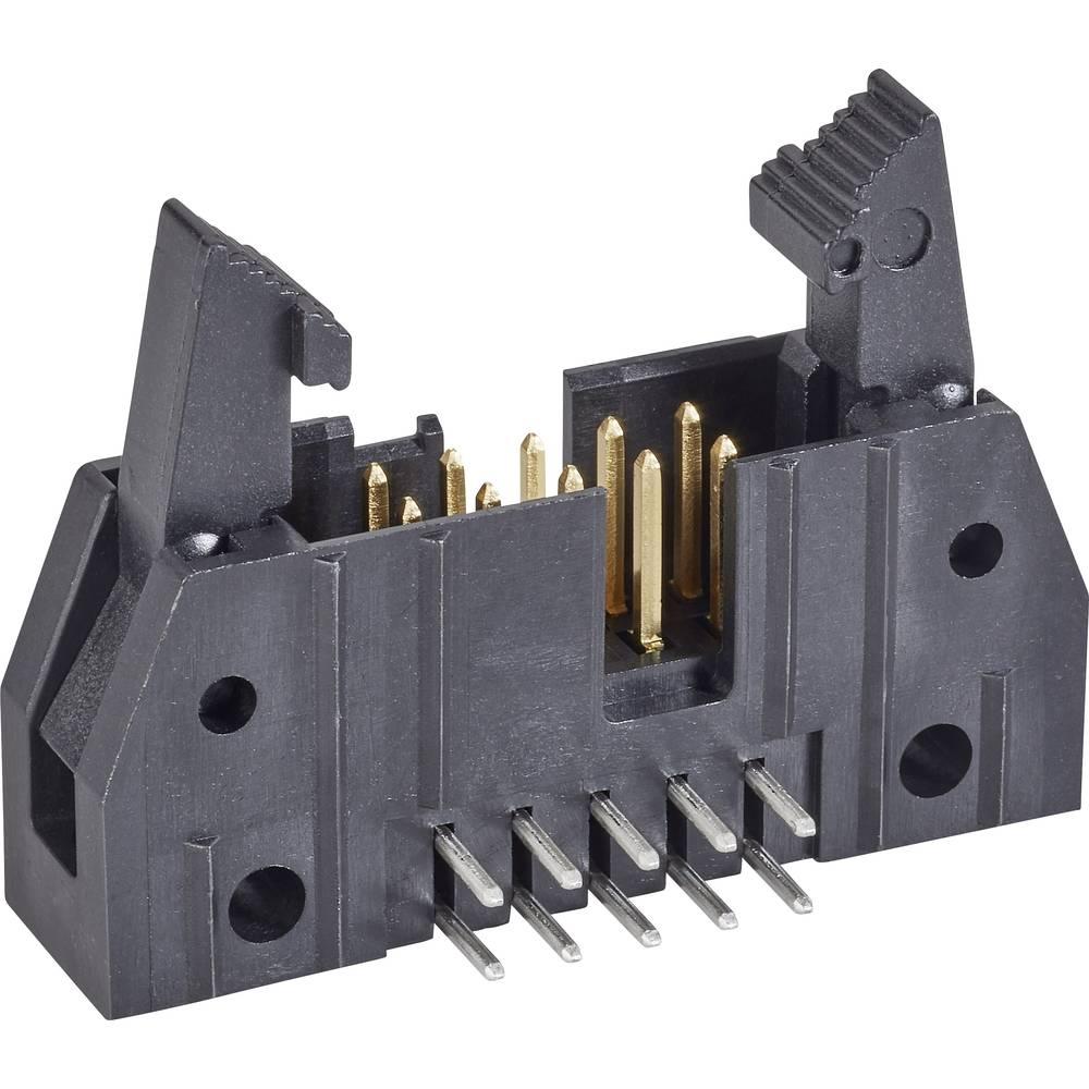 Stiftliste med kort udløsergreb Rastermål: 2.54 mm Samlet antal poler: 20 TE Connectivity 1 stk