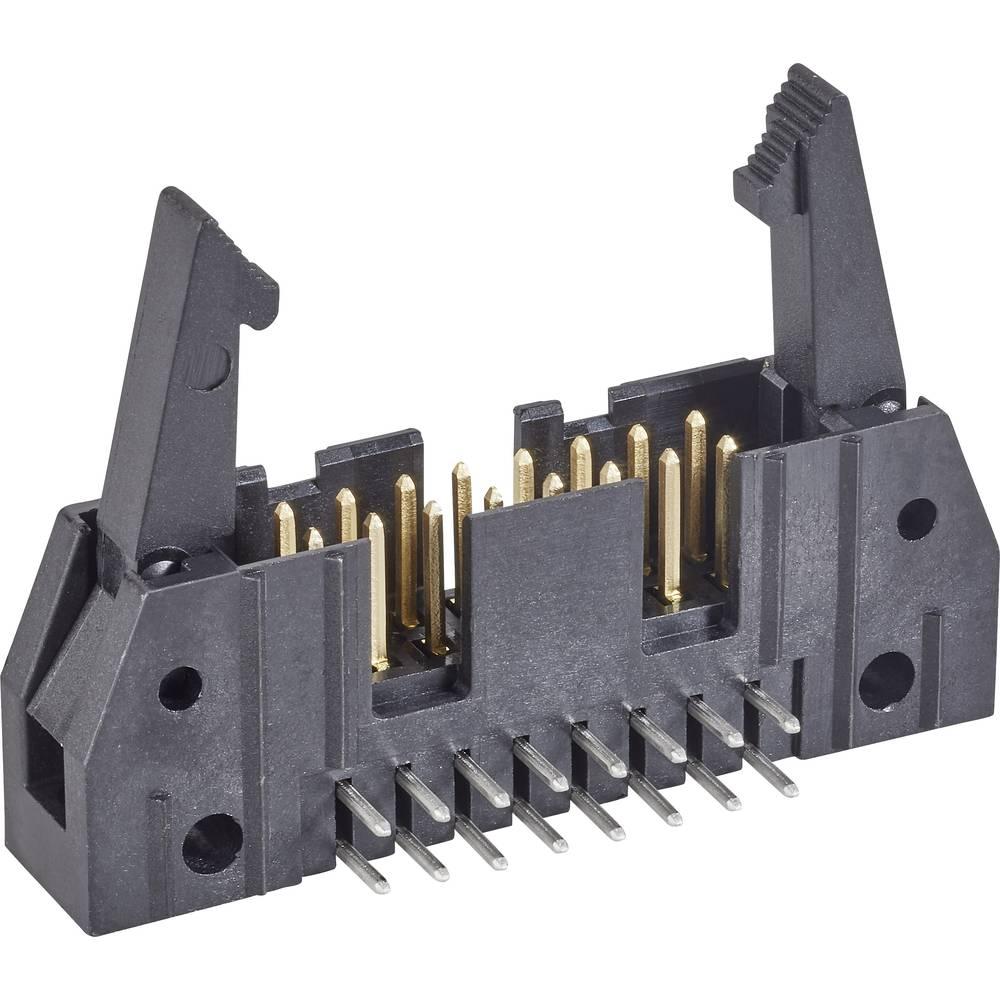 Stiftliste med langt udløsergreb Rastermål: 2.54 mm Samlet antal poler: 10 TE Connectivity 1 stk
