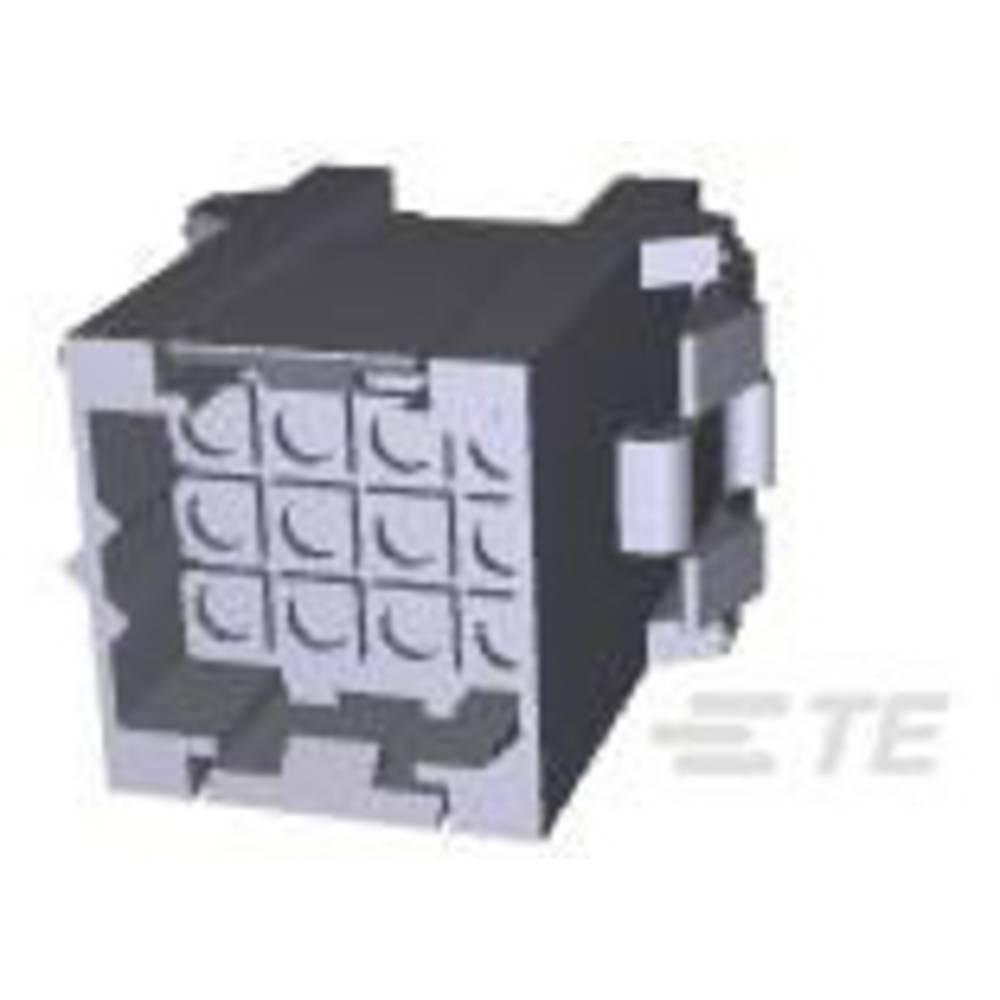 Ohišje kabelskega vtiča, skupno št. polov: 12 TE Connectivity 207018-1 razporeditev kontaktov: 5 mm 1 kos