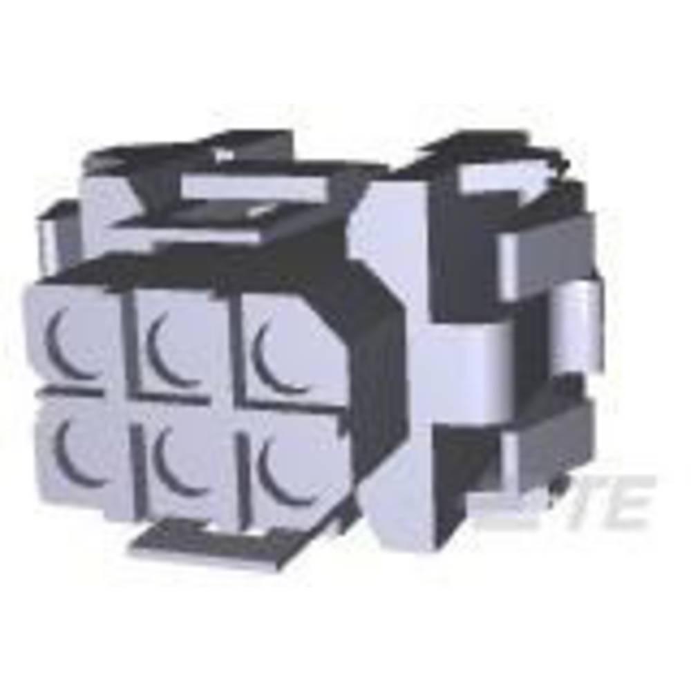 Ohišje kabelske vtičnice, skupno št. polov: 24 TE Connectivity 207304-1 razporeditev kontaktov: 5 mm 1 kos