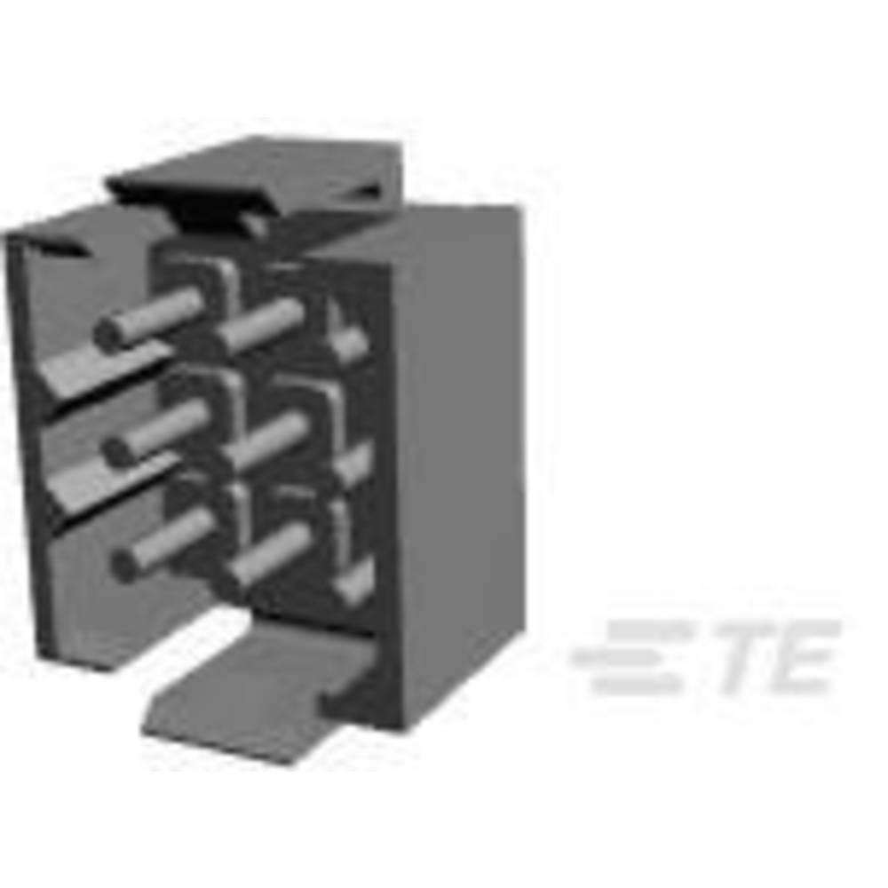 Ohišje vtiča za tiskano vezje, skupno št. polov: 9 TE Connectivity 207441-8 razporeditev kontaktov: 5 mm 1 kos