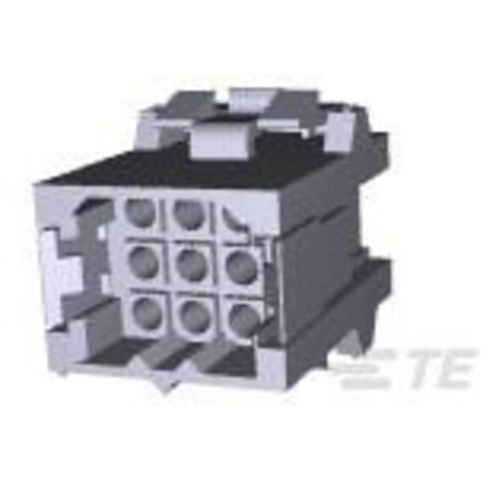 Ohišje kabelskega vtiča, skupno št. polov: 9 TE Connectivity 207440-1 razporeditev kontaktov: 5 mm 1 kos