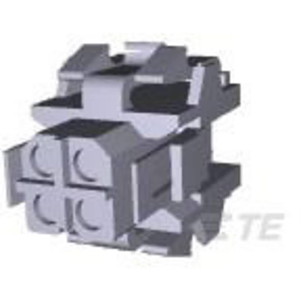 Ohišje kabelske vtičnice, skupno št. polov: 4 TE Connectivity 207015-1 razporeditev kontaktov: 5 mm 1 kos
